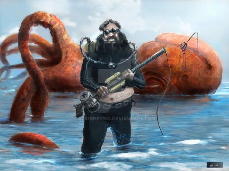 Oktopus hunt by acidonetwo