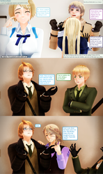 Ask RusAme Question 8: Family supporting? by MMD-AskRusAme