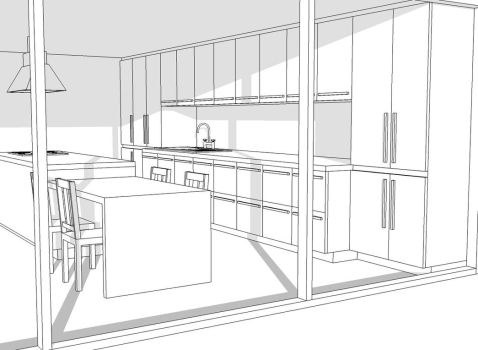 House Project: Kitchen by Specter-tc