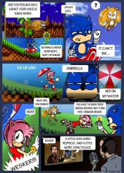 VGS - I'm Sonic the Hedgehog by Steelmullet