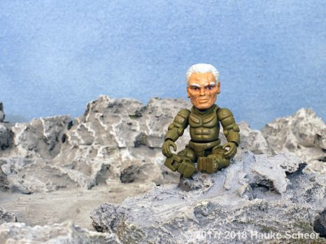 3D printed exosuit pilot action figure larger D by hauke3000