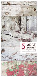 Texture Pack 02: wood and paint [5 LARGE IMAGES] by mercurycode