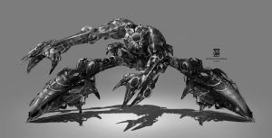 Mech Psdelux by psdeluxe