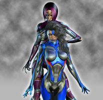 Cyber V4:Protege by shaft73