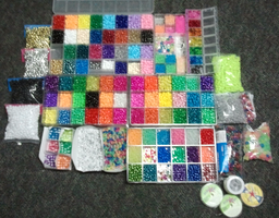 Kandi making supplies by anne-t-cats