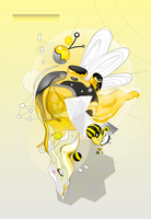 Bumble-bee by ixnivek