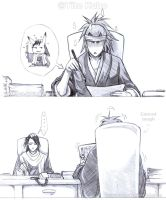 BLEACH - RENJI WTF Art skills2 by Washu-M