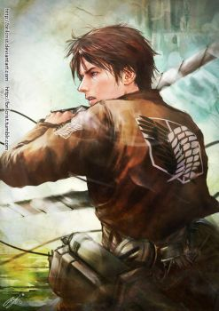 Eren Jaeger by Brilcrist