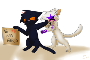 No Fangirls Allowed -Comm- by PikaPlatinum