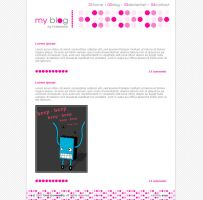 blog template by Hallaserke