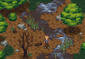Detailed RPG forest mockup by SharmClucas