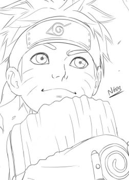 Naruto Sketch by N6023