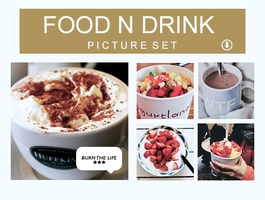 Food N Drink | PICTURE SET| by Burn-the-life