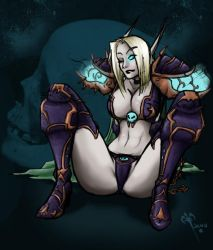 Maeror Pinup by baenling