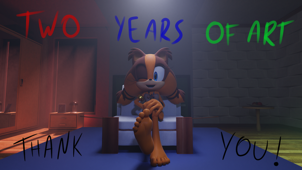 TWO Years of DA! [Anniversary special] by FeetyMcFoot