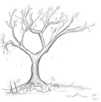 Tree Sketch by TheNobody1990