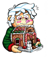 Gingerbread House by Miss-DNL