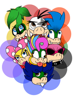 The Koopalings by IllegalKoopas