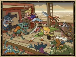 Wind Waker by captainsponge