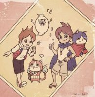 Youkai watch The secret of birth by 4eknight11