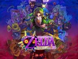 Majora's Mask 3ds: Wallpaper by Supremalucard78411