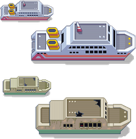 S.S Tidal + Abandoned Ship Remakes by PeekyChew