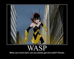 Wasp Motivation poster 2 by van55555