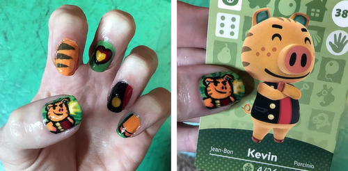 ACNL Kev Nails by SugarySweetSprites