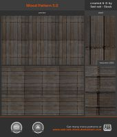 Wood Pattern 5.0 by Sed-rah-Stock
