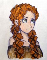 time to change hairstyles-Merida by UkeHicForEva