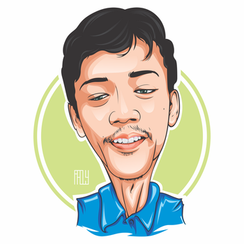 Simple Caricature Vector by sangpendosa