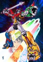 Voltron by Smolb