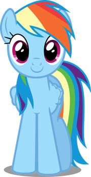 Vector #34 - Rainbow Dash #7 by DashieSparkle