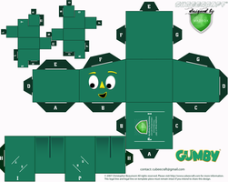 gumby cubee by 1madhatter