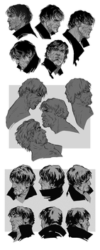 Sketchdump: Corvs by coupleofkooks