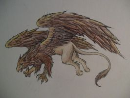 The Mighty Griffin by WyvernFlames