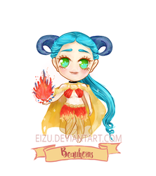 Auction ( OPEN ) Adoptable _ Beauhorns _ (Youtube) by eizu
