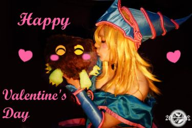 Happy Valentine's Day -  DMG and Kuriboh by 20Tourniquet02