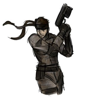 Solid Snake QS by UnlimitedShadeWorks