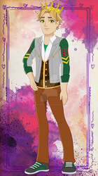 Michael Cygne - First Chapter style by starfirerencarnacion