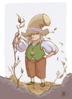 Autumn Leprechaunt character design by Stella-di-A