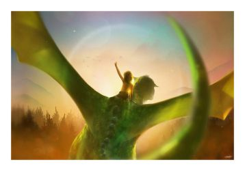 Pete's Dragon by AndyFairhurst