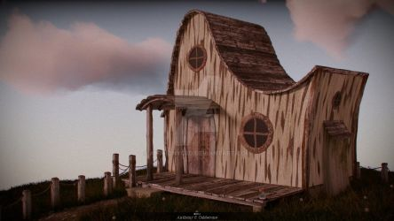 House on the Hill by AnthonyC3d