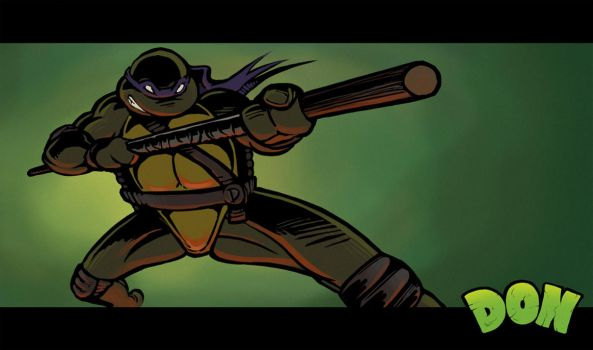 Donatello by Hungry-Porkins