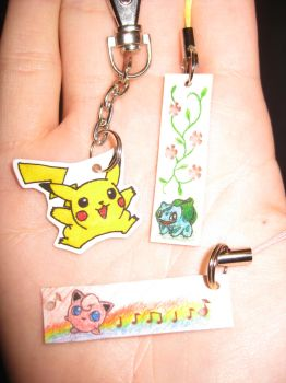Pokemon Charms by opiel16