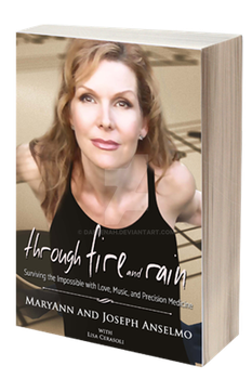 Through Fire and Rain Paperback mockup by Dafeenah