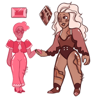 Couple Gem Adopts (CLOSED) by AlyOnyxTwo