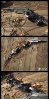 Skyrim- Nord Carved bow by fevereon