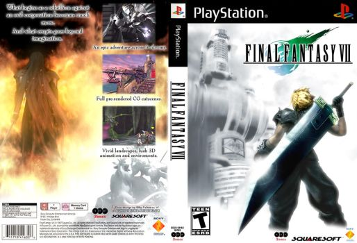 Final Fantasy VII classic PS2 by Billysan291