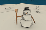 3Dcember - Day7 - Snowman by Daragos90